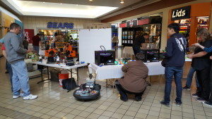3D Printing, Remote Controlled Robotics, Robotic Arms, and many colorful lights!