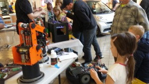 STEM2015_Girl With Robot Arm