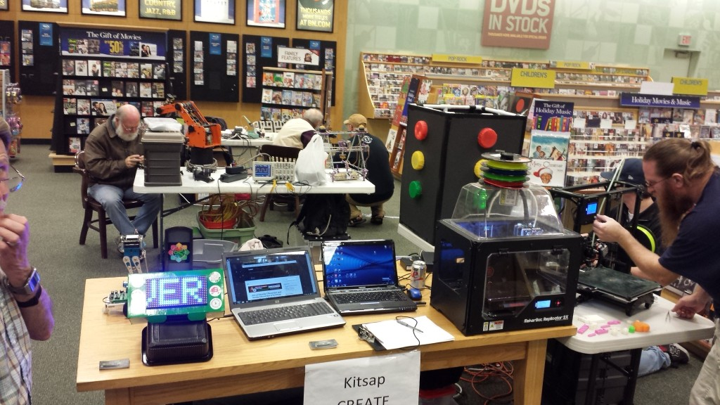 Barns & Noble Maker Faire 2015